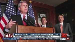 Congressman Kevin McCarthy in Sacramento to discuss relationship between California and the Federal Government [Video]
