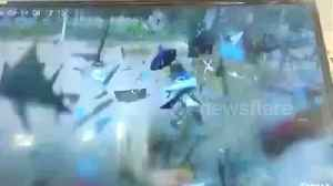 Lorry full of chemicals explodes in eastern China [Video]