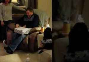 Couple Surprise Their Families With a Special Christmas Gift [Video]