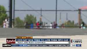 3 students say man tried to lure them into car near Richard Bryan Elementary [Video]