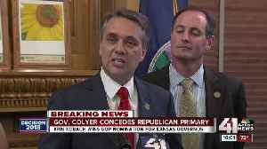 Colyer concedes race for GOP nomination for gov. [Video]