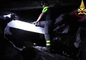 Italian Rescue Crews Work Overnight in Search of Bridge Collapse Victims [Video]