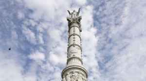 Yorktown's Victory Monument undergoes cleaning and repair [Video]