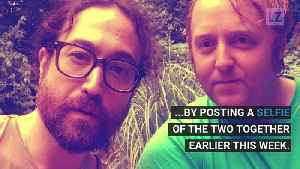 Legendary Beatles' Sons Go Viral with Selfie [Video]