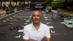 Olympic Medalist Daley Thompson opened a Pop-Up Gym to encourage people to chase their dreams [Video]