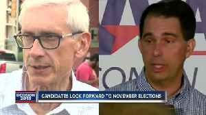 Evers and Walker, Vukmir and Baldwin set to face-off in November's elections [Video]