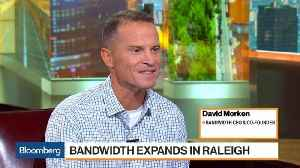Bandwith CEO Expands Tech Footprint in Raleigh, North Carolina [Video]