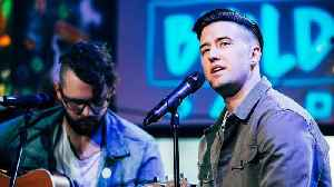 Logan Henderson Performs At BUILDseriesNYC [Video]