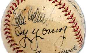 Baseball Signed By Babe Ruth and Other Legends Sells For Record-Breaking $623,369 [Video]