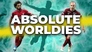Pitch Invasion Hero?! | INIESTA Rolling Back the Years? | ABSOLUTE WOLRDIES [Video]
