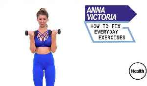 Anna Victoria How To Fix Everyday Exercises [Video]