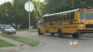 News video: First-Day Test For New School Bus Company