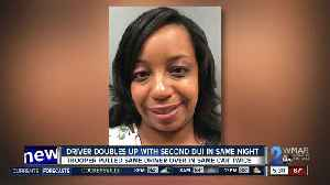 Seeing double? Drunk driver arrested twice in span of 20 minutes [Video]