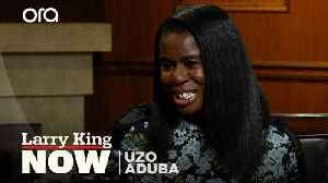 'Orange is the New Black' star Uzo Aduba on connecting with her Nigerian roots [Video]