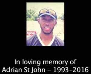Adrian St John - His fellow Chris Gayle Academy members pay tribute [Video]