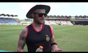 Brendon McCullum talks all things CPL 2016 - from Trinbago to Florida [Video]