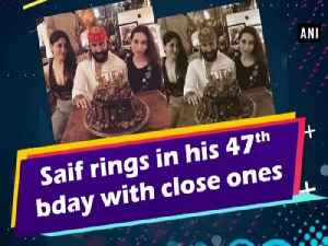 Saif rings in his 47th bday with close ones [Video]