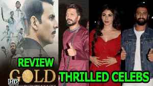Akshay Kumar GOLD Shines | CELEBS are THRILLED | REVIEW [Video]
