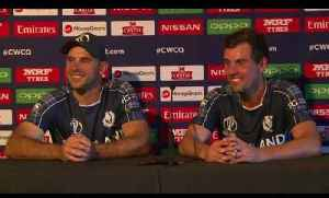 Press Conference: Scotland score great win over Afghanistan in ICC WCQ opener [Video]
