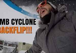 This Vlogger Explores the Great Outdoors During Bomb Cyclone [Video]
