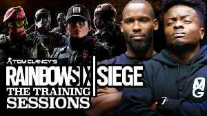 Rainbow Six Siege Training: NFL Stars Marquise Goodwin & Pierre Garcon Learn How To Play | Part 1 [Video]