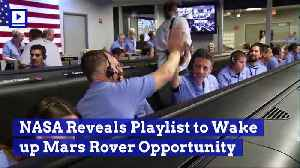NASA Reveals Playlist to Wake up Mars Rover Opportunity [Video]