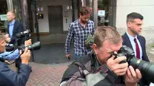 Danny Cipriani leaves court after pleading guilty [Video]
