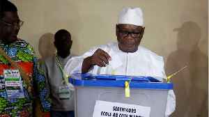 Mali Prez Keita Wins Re-Election Easily [Video]
