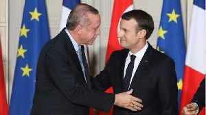 Macron & Erdogan Stress The Importance Of Maintaining Strong Economic Ties [Video]