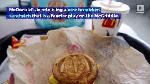 McDonald's Announces New French Toast Breakfast Sandwich [Video]