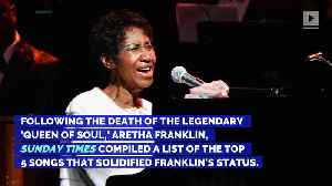 Aretha Franklin: 5 Songs That Cemented Her Legendary Status [Video]