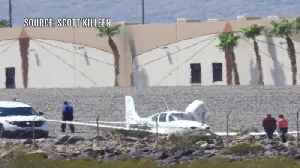 Plane goes off runway at Henderson Executive Airport [Video]