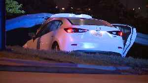 Carjacking leads to chase and crash near I-71 and W. 25th Street [Video]