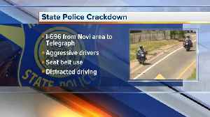 Michigan State Police enforcing aggressive driving crackdown on I-696 [Video]