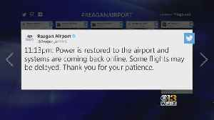 Reagan National Airport Back On After Power Outage [Video]