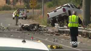 Rocklin Man Held for I-80 Crash That Killed 2, Including CHP Officer [Video]