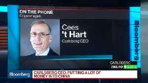 Carlsberg CEO Sees 'Stellar Growth' in Asia [Video]