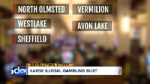 Large illegal gambling bust [Video]