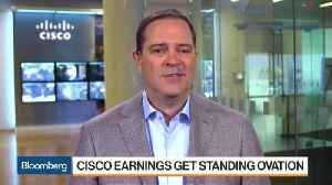 Cisco CEO Sees Strategy 'Clearly Working' in 'Good Quarter' [Video]