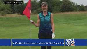 Golfer Hits Three Hole-In-Ones On Same Day [Video]