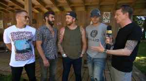 James Barker Band Love Playing Boots And Hearts [Video]