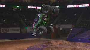 Monster Jam Returns To LA Friday [Video]