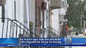 Police Locate Family Of 11-Year-Old Down Syndrome Boy Found On Upper Darby Street [Video]