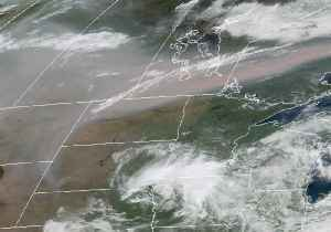 Smoke From Western Wildfires Moves Into Upper Mississippi Valley [Video]
