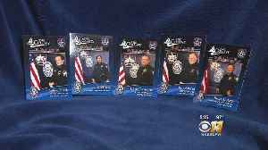 Department Hands Out Custom Police Trading Cards Promoting Officers [Video]
