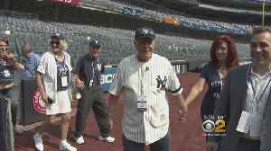 Octogenarian Fans Have Their Day On The Yankees Stadium Field [Video]