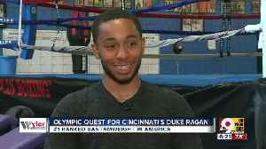 Olympic quest for Duke Ragan [Video]