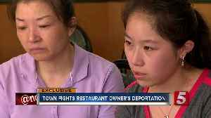 Small Town Fights For Restaurant Owner Facing Deportation [Video]
