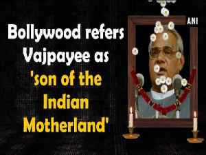 Bollywood refers Vajpayee as 'son of the Indian Motherland' [Video]