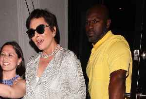 Watch: Kris Jenner And Corey Gamble Engaged? She Hints They Are To James Corden [Video]